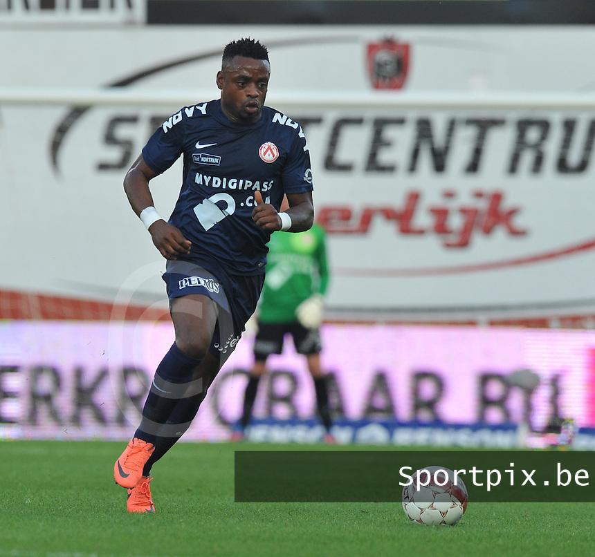 KV Kortrijk : Landry Mulemo.foto VDB / DAVID CATRY