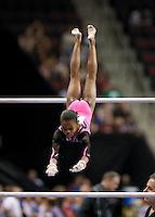 06/07/08 - Women's VISA Championships Agganis Areana in Boston Univeristy.  Jr Women Finals.Gabrielle Douglas