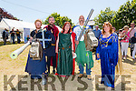 Enjoying the Ardfert Medieval Festival celebrating the feast of St Brendan on Sunday were Chris O'Connor, Dan Quirke, Deirdre Ferris, Colleen Trant and Conor Foley