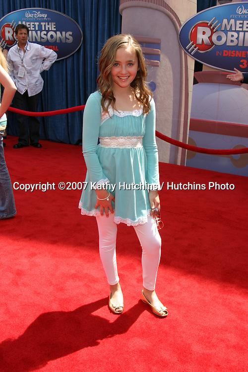 "Rachel G. Fox.""Meet the Robinson's"" World Premiere.El Capitan Theater.Los Angeles, CA.March 25, 2007.©2007 Kathy Hutchins / Hutchins Photo."