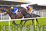 Action from the Croom House Stud Handicap at Listowel Races Ladies Day on Sunday.