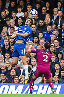 Marcos Alonso of Chelsea out jumps Kyle Walker of Manchester City<br /> Calcio Chelsea - Manchester City Premier League <br /> Foto Phcimages/Panoramic/insidefoto