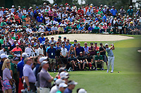 Paul Casey (ENG) on the 3rd tee during the 2nd round at the The Masters , Augusta National, Augusta, Georgia, USA. 12/04/2019.<br /> Picture Fran Caffrey / Golffile.ie<br /> <br /> All photo usage must carry mandatory copyright credit (© Golffile | Fran Caffrey)