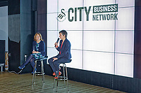 Pictured: Professor Laura McAllister (R). Thursday 29 November 2018<br /> Re: Swansea City Business Network event at the Liberty Stadium, Wales, UK.