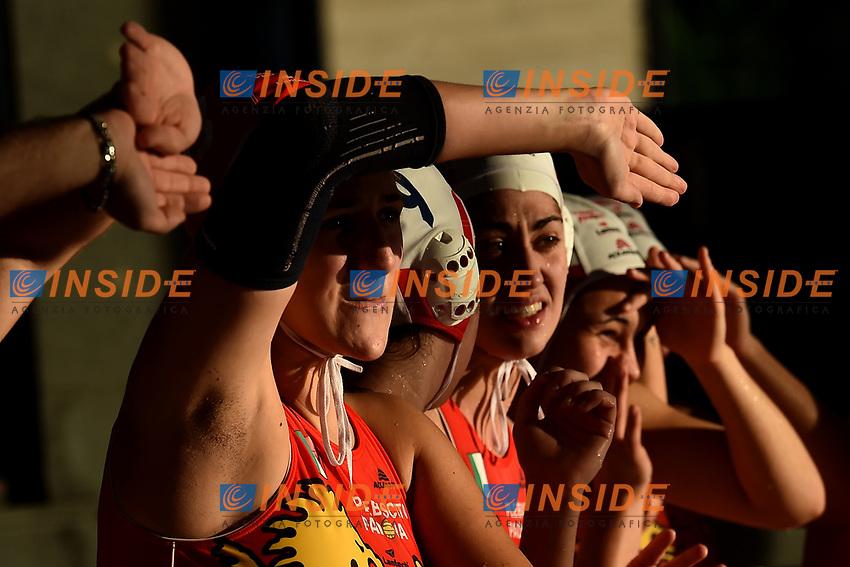 Carolina Giacon Plebiscito <br /> Roma 06/01/2019 Centro Federale  <br /> Final Six Pallanuoto Donne Coppa Italia <br /> Plebiscito Padova - Ekpe Orizzonte Catania Finale 3-4 posto<br /> Foto Andrea Staccioli/Deepbluemedia/Insidefoto