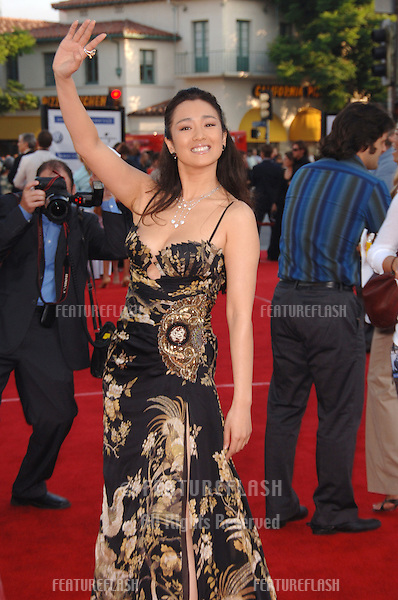"Actress GONG LI at the world premiere, in Los Angeles, of her new movie ""Miami Vice."".July 20, 2006  Los Angeles, CA.© 2006 Paul Smith / Featureflash"