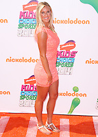 WESTWOOD, LOS ANGELES, CA, USA - JULY 17: Bethany Hamilton at the Nickelodeon Kids' Choice Sports Awards 2014 held at UCLA's Pauley Pavilion on July 17, 2014 in Westwood, Los Angeles, California, United States. (Photo by Xavier Collin/Celebrity Monitor)