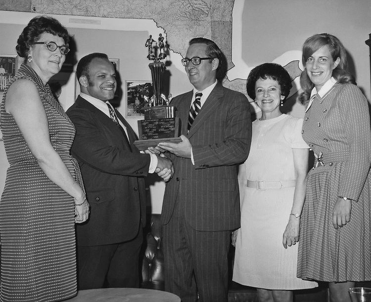 Rep. John W. Wydler, R-N.Y., with party members. (Photo by CQ Roll Call via Getty Images)
