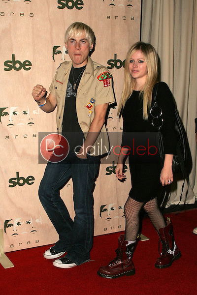 Deryck Whibley and Avril Lavigne<br />at the Opening of &quot;Area&quot; Nightclub. Area, West Hollywood, CA. 09-28-06<br />Dave Edwards/DailyCeleb.com 818-249-4998