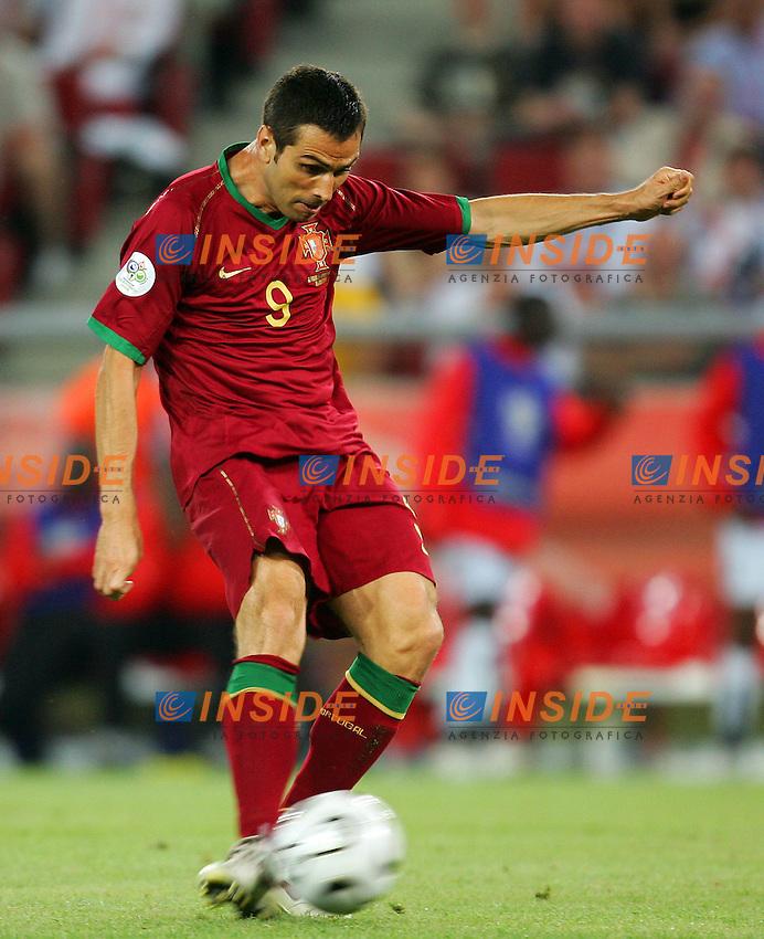 Koln 11/6/2006 World Cup 2006.Angola Portugal - Angola Portogallo 0-1.Photo Andrea Staccioli Insidefoto.Pauleta Portogallo