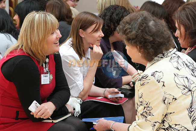 Speed Networking at the Network Ireland National Conference and Business Women of the Year Awards 2012 - Friday 28th September in Drogheda, Co. Louth..Photo NEWSFILE/Jenny Matthews.