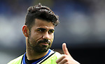 Diego Costa of Chelsea during the English Premier League match at Goodison Park , Liverpool. Picture date: April 30th, 2017. Photo credit should read: Lynne Cameron/Sportimage