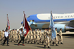 Israeli flight cadets, Guard of Honor for US presidend Barack Obama at the welcoming ceremony at Ben Gurion Airport