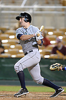 Peoria Javelinas third baseman Patrick Kivlehan (36), of the Seattle Mariners organization, during an Arizona Fall League game against the Glendale Desert Dogs on October 15, 2013 at Camelback Ranch Stadium in Glendale, Arizona.  Glendale defeated Peoria 5-1.  (Mike Janes/Four Seam Images)