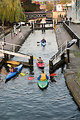 Pirates' Castle rowing club, Camden, London.