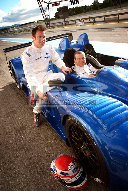©/WRI2/TEAMSHOOT - Le Beausset France 13/01/2008 ; Paul Ricard Courage Oreca 13/01/08 ; Nicolas Lapierre (FRA) and Olivier Panis (FRA). Courage Oreca, Circuit Paul Ricard HTTT.....***************************************..GERMANY, AUSTRALIA, FINLAND,..ITALY and SWITZERLAND OUT..***************************************..© MaxPPP / IPS PHOTO AGENCY ..ONLY UK..FOR ANY INFO'S PLEASE CONTACT:..IPS photo..21 Delisle rd.. London SE28 0JD..TEL 004420883310207..FAX 00442088551037..Mob: 00447973308835....ONLY UK ONLY UK ONLY UK ONLY UK ..