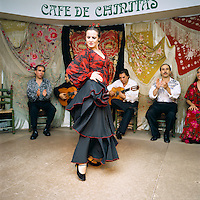 Spain, Madrid: Flamenco dancer | Spanien, Madrid: Flamenco Taenzer