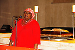 Professor Mojubaolu Olufunke Okome - Bring Back Our Girls - 500 Days on August 27, 2015 - New York City, New York (Photo by Sue Coflin/Max Photos)