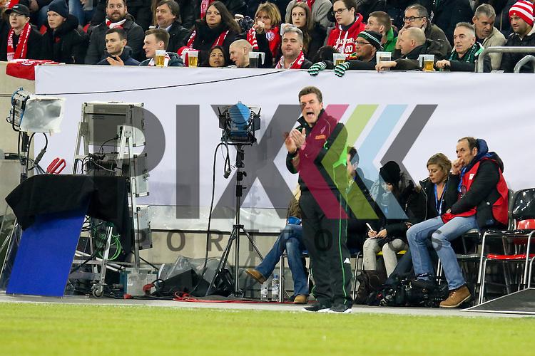 Gladbachs Trainer Dieter Hecking beim Telecom Cup 2017 Borussia Moenchengladbach - FSV Mainz 05.<br /> <br /> Foto &copy; PIX-Sportfotos *** Foto ist honorarpflichtig! *** Auf Anfrage in hoeherer Qualitaet/Aufloesung. Belegexemplar erbeten. Veroeffentlichung ausschliesslich fuer journalistisch-publizistische Zwecke. For editorial use only.
