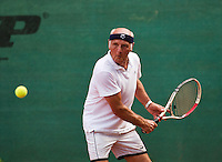 Netherlands, Amstelveen, August 21, 2015, Tennis,  National Veteran Championships, NVK, TV de Kegel,  Hilbertus Emmink<br /> Photo: Tennisimages/Henk Koster