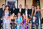 DEBS: having a great time at the Green Debs in the Abbey gate Hotel, Tralee on Friday night. Front l-r: P J Dunne, Sarah McLoughlin, Chloe O'Dowd, Ciara Hill, Amy Wall and David Courtney. Back l-r: Musa tshikloa, Anthony McDonnell, gavin carroll, Frankie Murphy, Christina Foley and Kayleigh Munstzer......