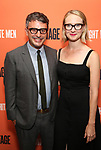 Trip Cullman and Halley Feiffer attends the Opening Night Performance of 'Straight White Men' at the Hayes Theatre on July 23, 2018 in New York City.