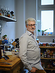 Germany, , 2018/12/19<br /> <br /> Brian Kapelll originally from Los Angeles, is portrayed in his apartment in Berlin Steglitz 19/12/2018.(Photo by Gregor Zielke)