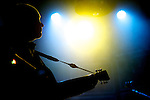 Frank Black (or Black Francis) of American rock band Pixies performs live on stage during a concert at La Riviera