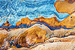 Orange and Blue Stone, Point Lobos, California