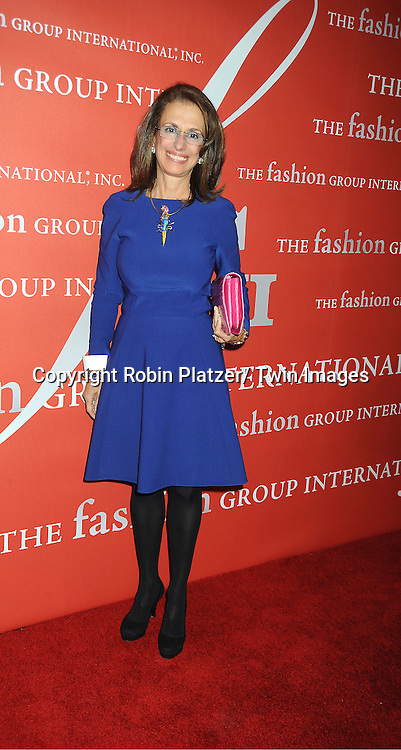 Rose Marie Bravo attends the Fashion Group International's 29th Annual  Night of Stars Gala on October 25, 2012 at Cipriani Wall Street in New York City.