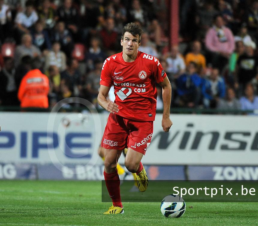 KV Kortrijk - Sporting Lokeren : Ivan Santini<br /> foto VDB / Bart Vandenbroucke