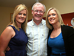 Aoife Loughran, Gerry Kelly and Roisín Callan at the Opening of D'Vine Restaurant, Dyer Street...Photo NEWSFILE/Jenny Matthews.(Photo credit should read Jenny Matthews/NEWSFILE)....This Picture has been sent you under the condtions enclosed by:.Newsfile Ltd..The Studio,.Millmount Abbey,.Drogheda,.Co Meath..Ireland..Tel: +353(0)41-9871240.Fax: +353(0)41-9871260.GSM: +353(0)86-2500958.email: pictures@newsfile.ie.www.newsfile.ie.FTP: 193.120.102.198.