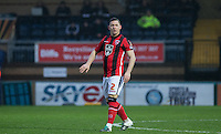Shaun Beeley of Morecambe during the Sky Bet League 2 match between Wycombe Wanderers and Morecambe at Adams Park, High Wycombe, England on 2 January 2016. Photo by Andy Rowland / PRiME Media Images