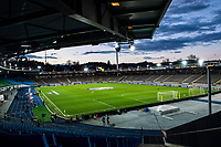 12th March 2020, TGW Arena, Pasching, Austria; UEFA Europa League football,  LASK versus Manchester United;  The empty Stadium before the game