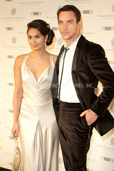 Jonathan Rhys Meyers and Reena Hammer at Raisa Gorbachev's Russian Midsummer Fantasy gala at Hampton Court Palace - 07 June 2008..FAMOUS PICTURES AND FEATURES AGENCY 13 HARWOOD ROAD LONDON SW6 4QP UNITED KINGDOM tel +44 (0) 20 7731 9333 fax +44 (0) 20 7731 9330 e-mail info@famous.uk.com www.famous.uk.com.FAM23263