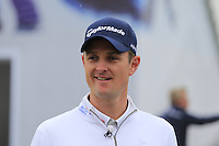 Justin Rose (ENG) during Wednesday's Pro-Am Day of the 2014 BMW Masters held at Lake Malaren, Shanghai, China 29th October 2014.<br /> Picture: Eoin Clarke www.golffile.ie