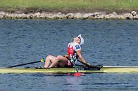 Sarasota. Florida USA.  SUI W1X. Jeannine GMELIN, Semi Final A/B. 2017 World Rowing Championships, Nathan Benderson Park<br /> <br /> Friday  29.09.17   <br /> <br /> [Mandatory Credit. Peter SPURRIER/Intersport Images].<br /> <br /> <br /> NIKON CORPORATION -  NIKON D500  lens  VR 500mm f/4G IF-ED mm. 200 ISO 1/640/sec. f 8
