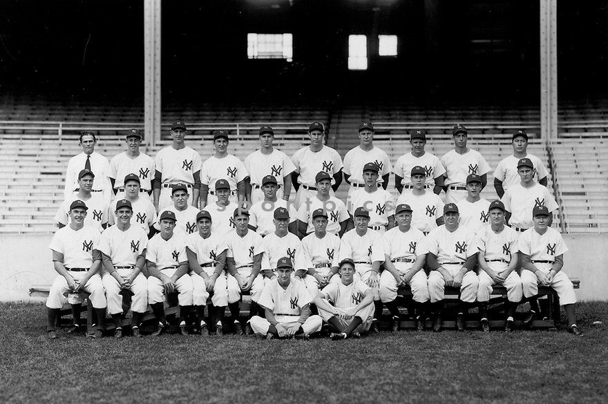 Team photo of the 1947 New York Yankees