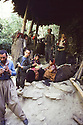 Iran 1981.A family at home in a Kurdish village