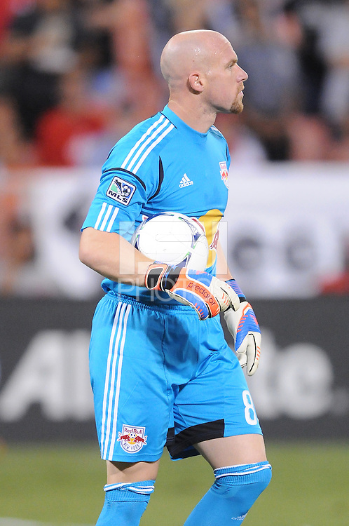 New York Red Bulls goalkeeper Bill Gaudette (88) The New York Red Bulls tied D.C. United 2-2 at RFK Stadium, Wednesday August 29, 2012.