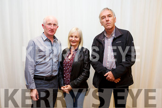 Tidy Towns awards at the Rose Hotel on Monday. Winner in best estates  category were St. brendan's Park  Richard O'Halloran, Mary Foley and Brendan Walsh
