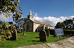 St Aidans church, Gillamoor, Kirkbymoorside, North Yorkshire, England. Sep 2007.