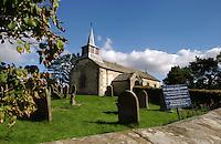 St Aidans church, Gillamoor, Kirkbymoorside, North Yorkshire, England. Sep 2007.