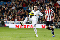 Real Madrid CF vs Athletic Club de Bilbao (5-1) at Santiago Bernabeu stadium. The picture shows Jose Callejon and Ibai Gomez. November 17, 2012. (ALTERPHOTOS/Caro Marin) NortePhoto