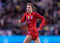 COLUMBUS, OH - NOVEMBER 07: Rose Lavelle #16 of the United States runs during a game between Sweden and USWNT at Mapfre Stadium on November 07, 2019 in Columbus, Ohio.