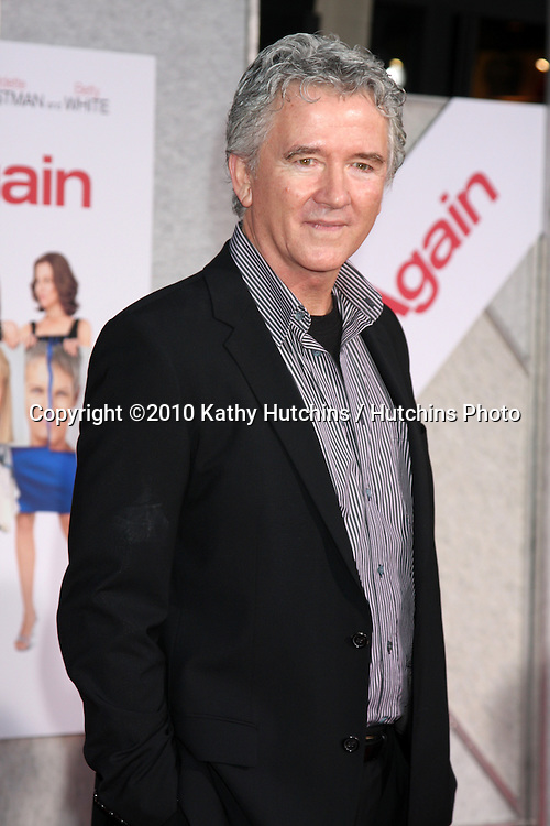 """LOS ANGELES - SEP 22:  Patrick Duffy arrives at the """"You Again"""" World Premiere at El Capitan Theater on September 22, 2010 in Los Angeles, CA"""
