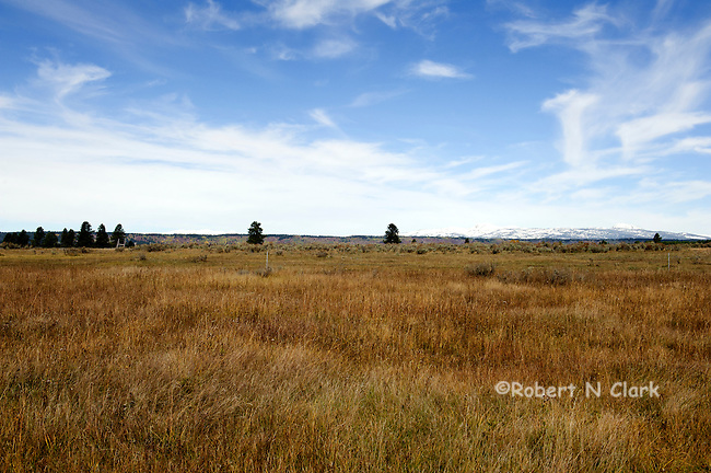 """The Henry's Fork of the Snake River in the fall at the area known as the """"gravel pit"""""""