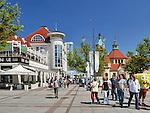 Sopot, 16.07.2015. Państwowa Galeria Sztukina Placu Zdrojowym w Sopocie.
