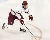 Destry Straight (BC - 17) - The Boston College Eagles defeated the visiting University of New Brunswick Varsity Reds 6-4 in an exhibition game on Saturday, October 4, 2014, at Kelley Rink in Conte Forum in Chestnut Hill, Massachusetts.