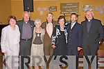 Celebrations :June 19th, Listowel Arms Hotel, Canon Linnane celebrates 50th aniversary. Helen Moylen, Canon Linnane, Alice Sheehan, Michael Dowling, Maureen Sheehy, Sean Kelly and Fr. Dan O' Riordan.